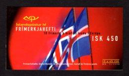 EUROPA 1998 - ISLANDE - CARNET Yvert C839 - Facit H40 - NEUF** MNH - Europa, Festivals Nationaux - 1998