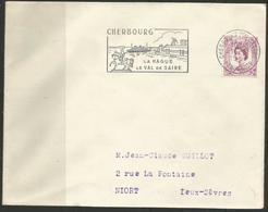 """Env. - Cherbourg La Hague - """"Paquebots"""" - 16 Nov 1963 - 1961-...."""
