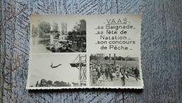 Vaas Sa Baignade Sa Fête De Natation Son Concours De Pêche  Reportages Jack Grande Rue Rare Sarthe - Francia