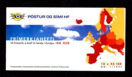 EUROPA 1997 - ISLANDE - CARNET Yvert C825 - Facit H37 - NEUF** MNH - Europa, Contes Et Légendes - Europa-CEPT