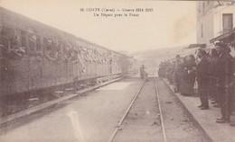 Corte (Corse) - Guerre 1914-1915 - Un Départ Pour Le Front - Corte