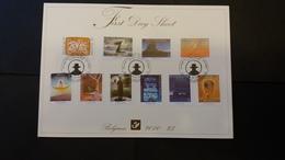 First Day Sheet: La Magie De Folon . Série Numéro 4069/78 - 2001-10