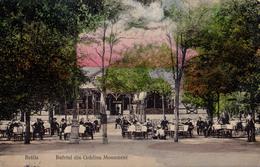 BRAILA : BUFETUL Din GRADINA MONUMENT / RESTAURANT - ANNÉE / YEAR ~ 1910 - '912 - RRR ! (aa693) - Roumanie