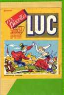 BUVARD & Blotting Paper :  Biscottes LUC  Dansons La Capucine - Biscottes