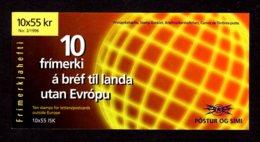 EUROPA 1996 - ISLANDE - CARNET Yvert C798 - Facit H31 - NEUF** MNH - Europa, Femmes Célèbres - Europa-CEPT