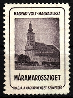Máramarossziget Sighetu Sighetu Marmației Church Occupation WW1 Romania Hungary Transylvania Vignette Label Cinderella - Transylvanie