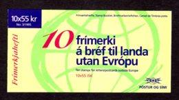 EUROPA 1995 - ISLANDE - CARNET Yvert C778 - Facit H27 - NEUF** MNH - Europa, Paix Et Liberté - Europa-CEPT