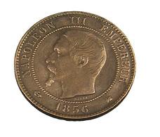 10 Centimes  - France - Napoléon III - 1856 K  - TB+ - Bronze - - France