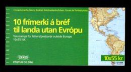 ISLANDE 1994 - CARNET Yvert C754 - Facit H22 - NEUF** MNH - Europa, L'europe Et Les Découvertes - Booklets