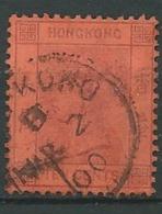 Hong Kong   - Yvert N° 41 Oblitéré - Ava27237 - Used Stamps