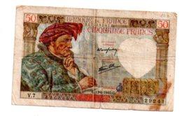 France -50 Francs - 13-6-1940--voir état Quelques Petits Trous - 1871-1952 Frühe Francs Des 20. Jh.