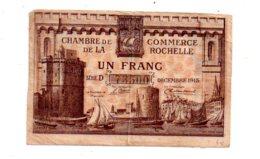 La Rochelle -un Franc-voir état - Chambre De Commerce