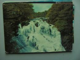 Wales Betws-y-Coed Swallow Falls - Wales