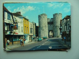 Engeland England Kent Canterbury Falstaff Hotel And West Gate - Canterbury