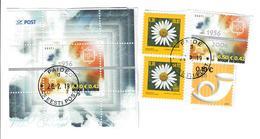 ESTONIA 2006 - ALCUNI VALORI + 1 FOGLIETTO USATI - Estonia