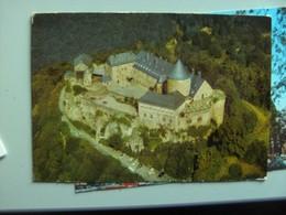 Duitsland Deutschland Hessen Schloss Waldeck Luftansicht - Waldeck