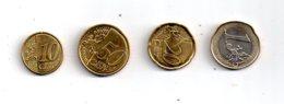 """Quelques Pièces """"euro"""" De Malte-voir état - Malta"""