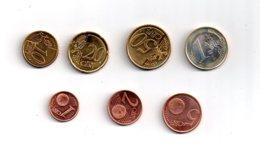 """Quelques Pièces """"euro"""" De Chypre-voir état - Zypern"""