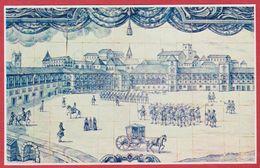 Le Palais Royal. Palais Détruit, Actuellement Place Du Commerce. Azulejos. Lisbonne. Portugal. Encyclopédie De 1970 - Vecchi Documenti