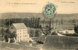 - CEZY (89) -  Le Moulin Et Le Pont Suspendu Sur L'Yonne  -18675- - Other Municipalities