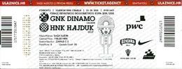 Sport Ticket UL000589 - Football (Soccer / Calcio) Dinamo Zagreb Vs Hajduk Split: 2018-05-23 - Tickets D'entrée