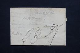 ROYAUME UNI - Marque Postale En Bleu De Bracknell  Sur Lettre Pour Dublin , à étudier - L 24564 - ...-1840 Préphilatélie