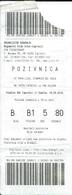 Sport Ticket UL000594 - Football (Soccer / Calcio) Inter Zapresic Vs Hajduk Split: 2018-04-14 - Tickets D'entrée