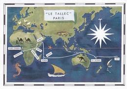 GUINEE EQUATORIALE  : Carte Editions Porcelaine Le Tallec . Oblitération Santa Isabel - Guinée Equatoriale