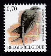 TIMBRE NEUF DE BELGIQUE - OISEAU DE BUZIN : MARTINET NOIR N° Y&T 3599 - Oiseaux