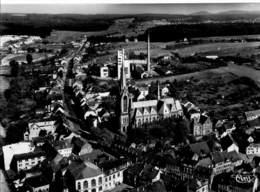 SANKT INGBERT (Saar) - Luftaufnahme Mit Josephkirche - Saarpfalz-Kreis