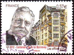 Oblitération Cachet à Date Sur Timbre De France N° 4710 - Centenaire De La Loi Bonnevay - Used Stamps