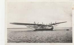CPSM  40 HYDRAVION LE VILLE DE ST PIERRE SUR LAC DE BISCAROSSE - Aviation