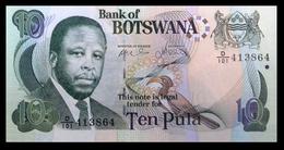 # # # Banknote Botswana (Botsuana) 10 Pula UNC # # # - Botswana