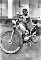 Tchad - BEDIONDO - Enfant Sur Mobylette Duomatic - Solex - Tchad