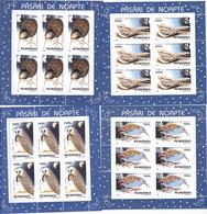 BIRDS,OWLS,ETC.MINISHEET 1998 MNH,ROMANIA. - Eulenvögel
