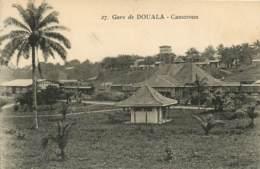 Cameroun DOUALA (Cameroun) - La Gare Edition Favra à Douala  (scan Recto-verso) FRCR00064 P - Cameroun