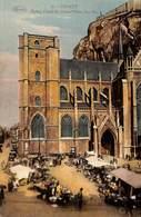 Dinant - Eglise, Citadelle Grand'Place, Rue Saxe (colorisée, Marché Top Animation, Marco Marcovici) - Dinant