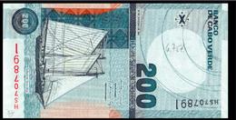 # # # Banknote Kap Verden (Cape Verde) 200 Escudos 2005 UNC # # # - Cap Vert