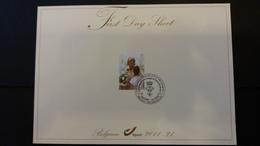 First Day Sheet: S.M La Reine Paola  . Série Numéro 4184 - FDC