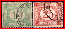 RUMANIA  -- ROMANIA -- R.P. ROMINA ( EUROPA ) SELLOS  1895   ( Usados ) - Fiscales