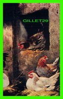 ANIMAUX, POULES - CHICKEN AT HOME - TRAVEL IN 1914 - - Animaux & Faune