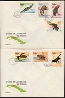 CUBA 1969, FAUNA, WILDLIFE Of The PENINSULA ZAPATA - FDC