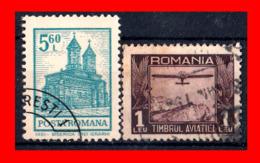 RUMANIA  -- ROMANIA -- R.P. ROMINA ( EUROPA ) SELLOS 1931  --  AIRPLANE  ( Usados ) - Oblitérés