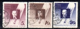 Y805 - RUSSIA URSS 1934 , Posta Aerea Usato Con Gomma N. 46/48 - 1923-1991 UdSSR