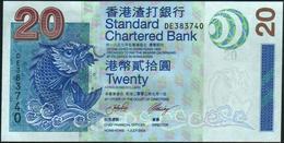 HONG KONG - 20 Dollars 01.07.2003 {S.C.B.} UNC P.291 - Hong Kong