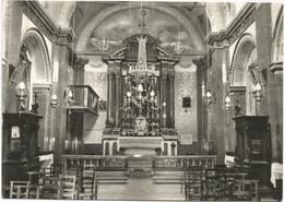 W1696 San Clemente Di Leonessa (Rieti) - Villaimpuni - Interno Chiesa Madonna Delle Grazie / Viaggiata 1957 - Italia