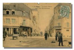 LE MANS - La Place Thiers  Rue Des Minimes  17 (scan Recto-verso) FRCR00077 P - Le Mans