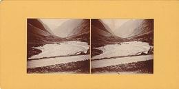 PHOTO STEREO 1925 VALLE DU VERREON ROUTE DE LA BERARDE - Fotos Estereoscópicas