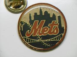 Pin's NEW YORK METS Baseball USA - Baseball