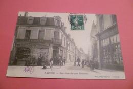 --C P A  ----37------AMBOISE-------Rue Jean-Jacques-Rousseau-----Rareté . - Amboise